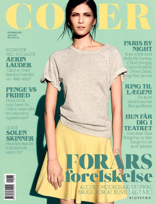 Maria Flávia Ferrari featured on the Cover cover from April 2012