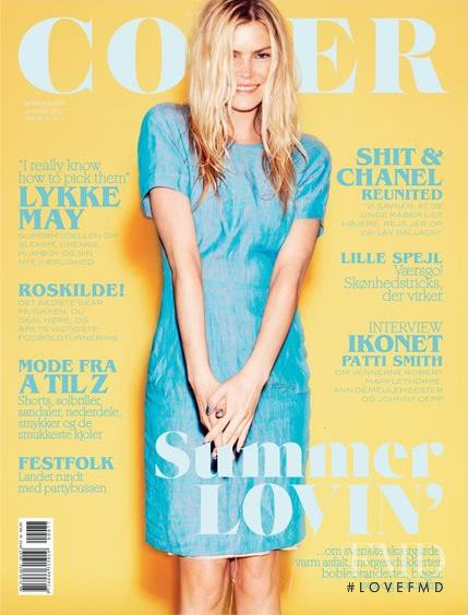 May Andersen featured on the Cover cover from June 2012