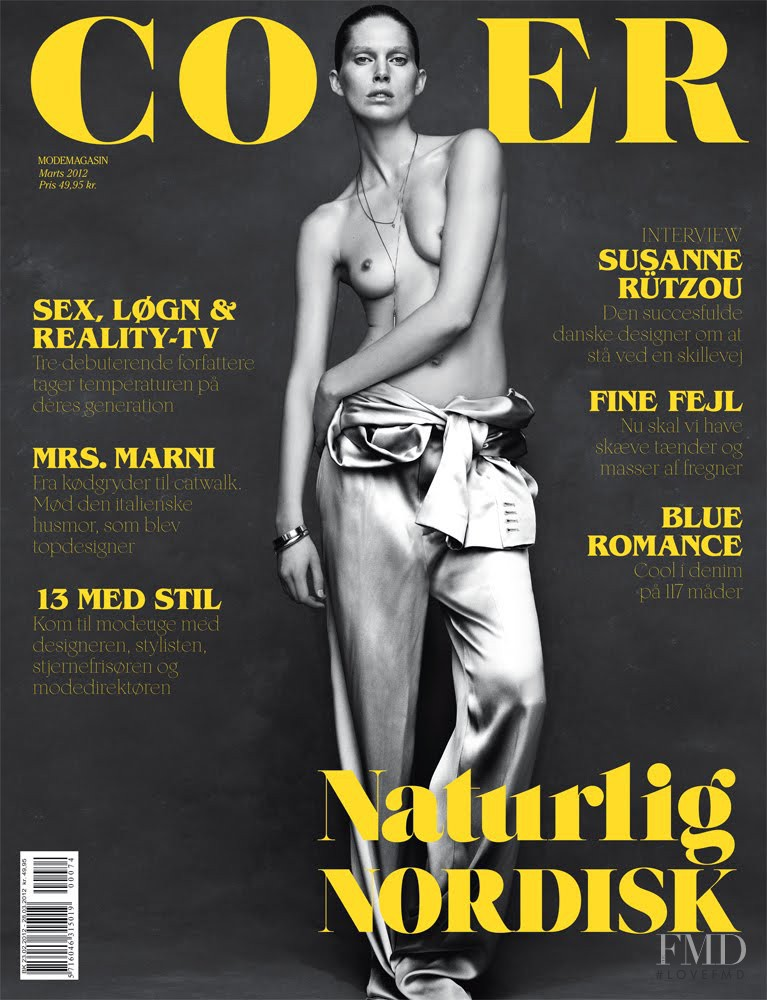Iselin Steiro featured on the Cover cover from March 2012