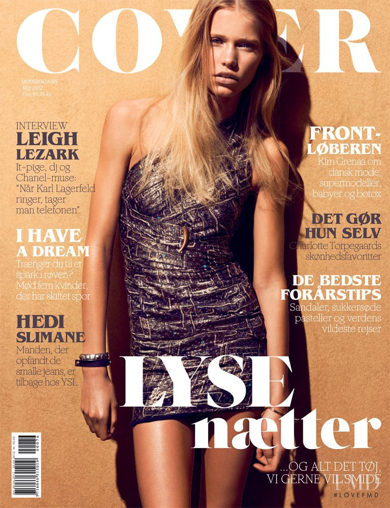 Kirstin Kragh Liljegren featured on the Cover cover from May 2012
