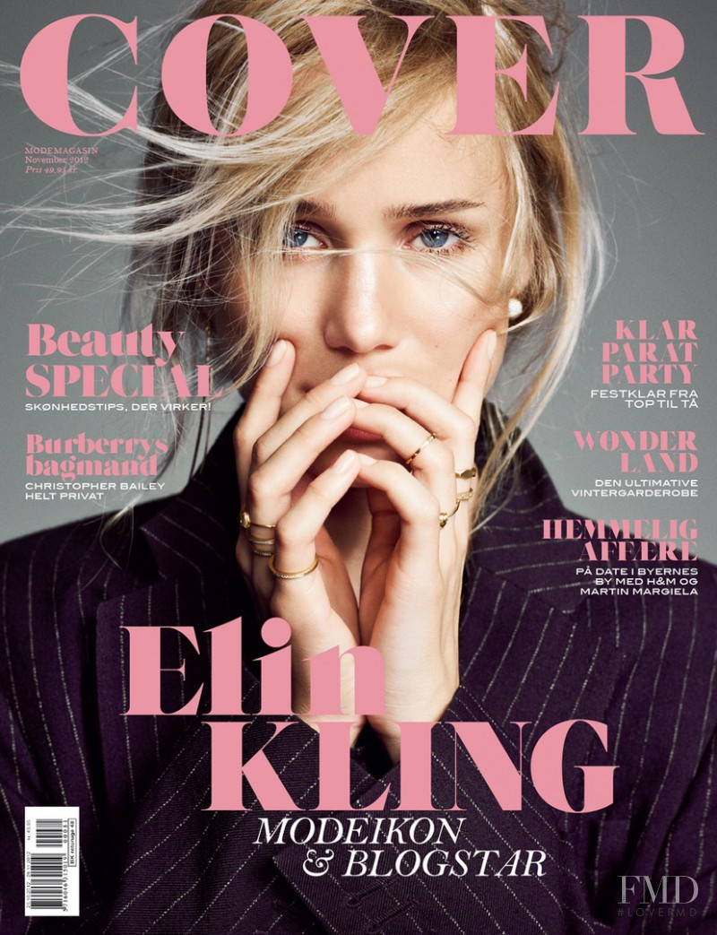 Elin Kling featured on the Cover cover from November 2012