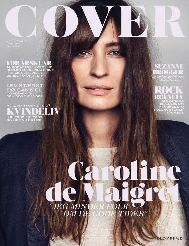 Caroline de Maigret featured on the Cover cover from February 2013