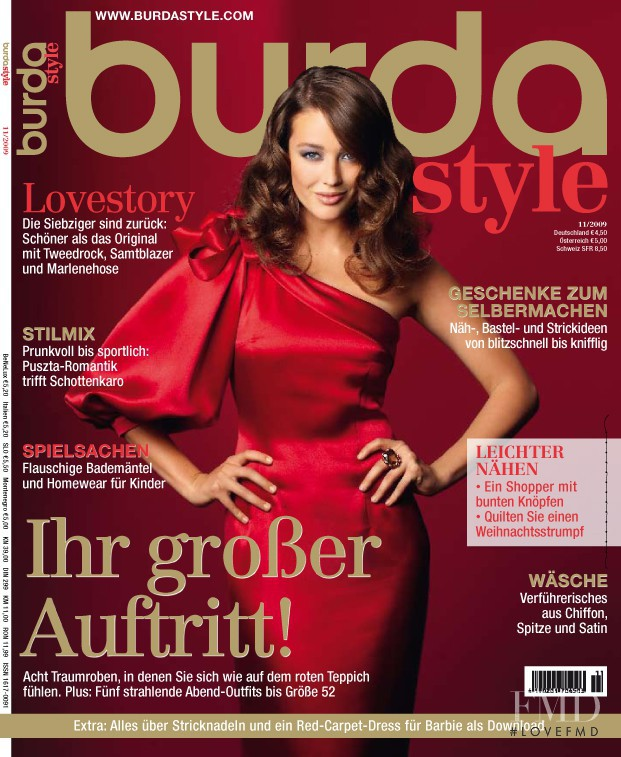 Cover Of Burda Style November 2009 Id 5081 Magazines
