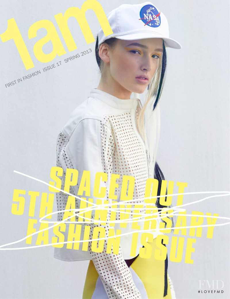 Maddison Brown featured on the 1am cover from October 2013