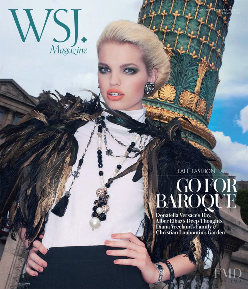 Daphne Groeneveld featured on the WSJ cover from September 2012