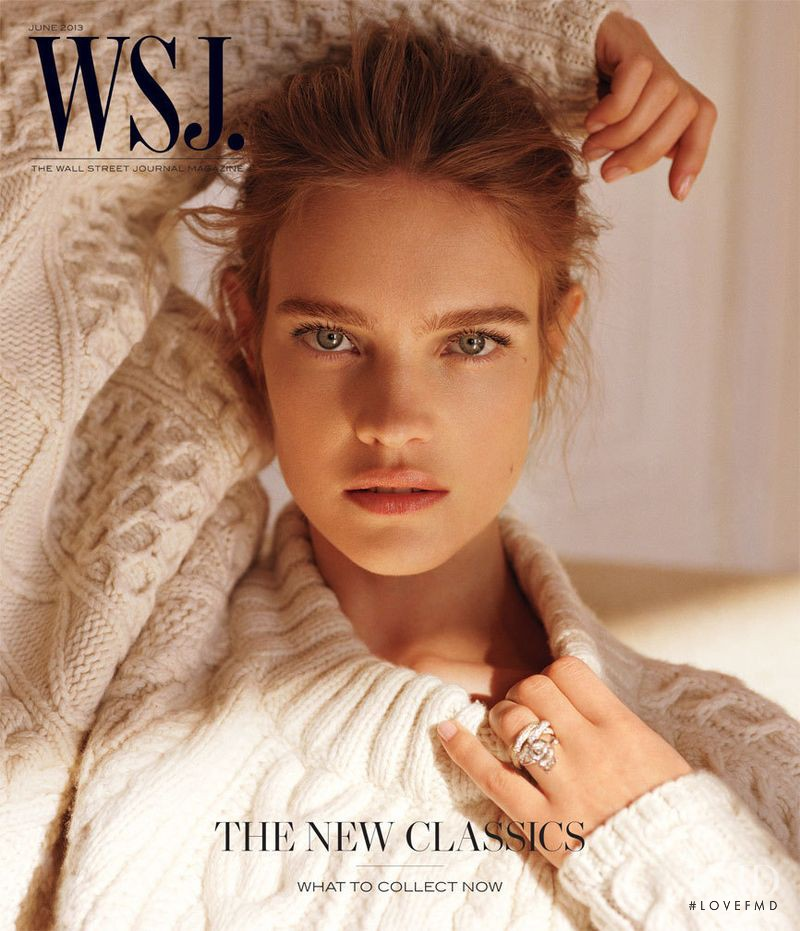 Natalia Vodianova featured on the WSJ cover from June 2013