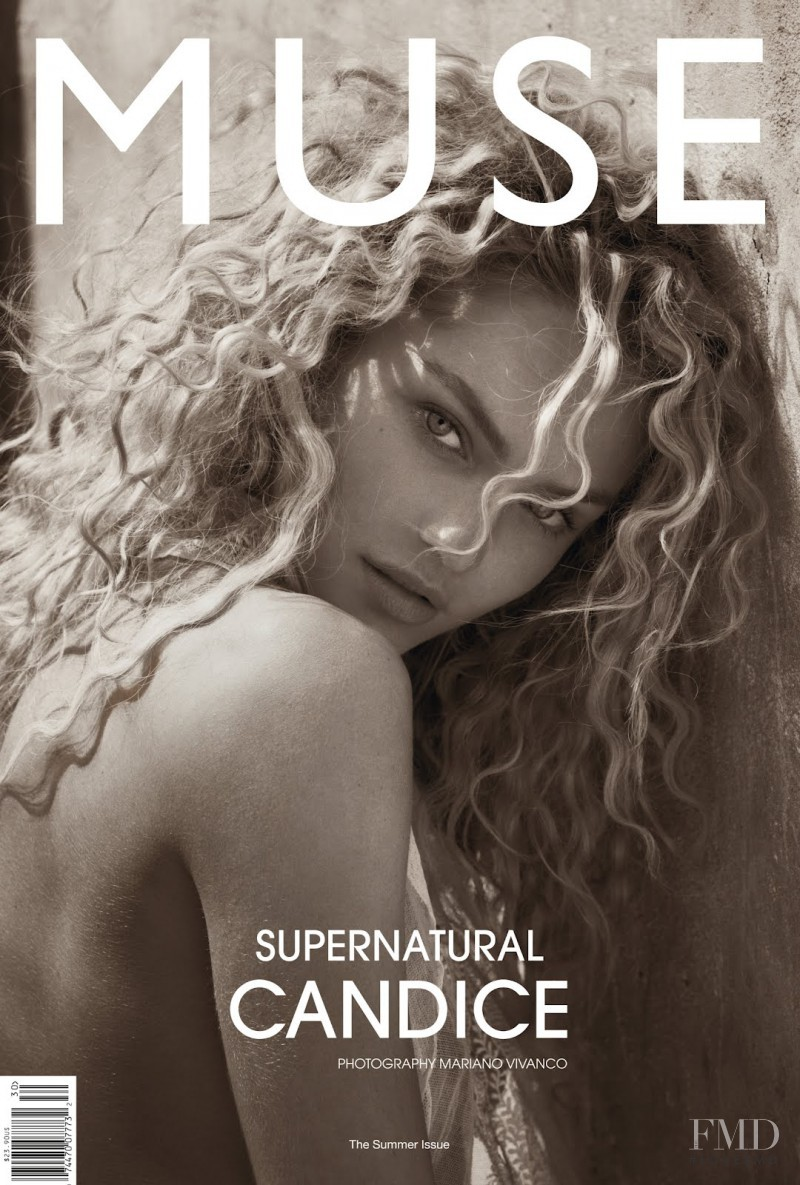 Candice Swanepoel featured on the Muse cover from June 2012