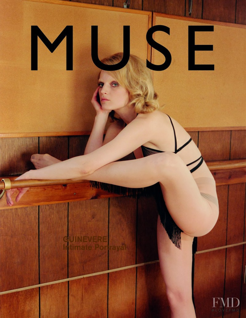 Guinevere van Seenus featured on the Muse cover from March 2014