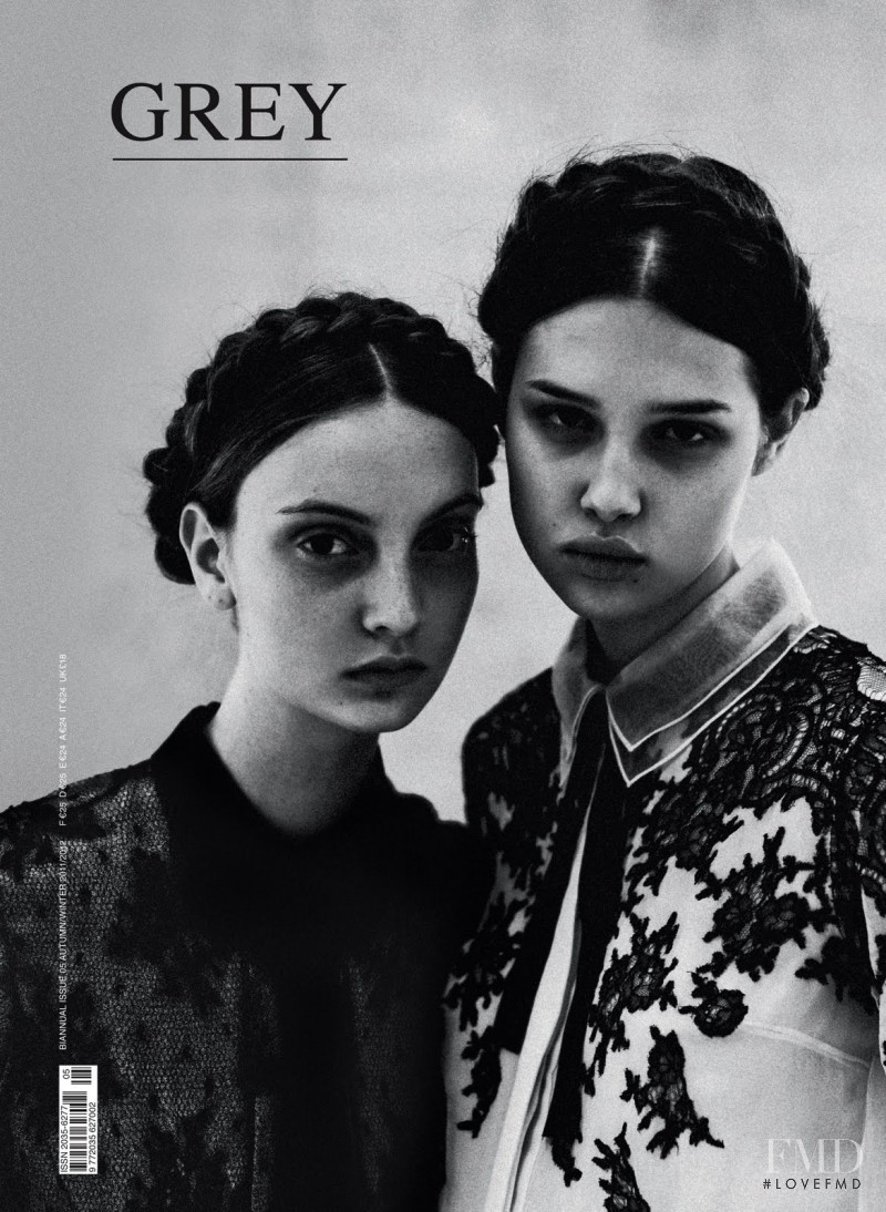 Anais Pouliot, Codie Young featured on the GREY Magazine cover from September 2011