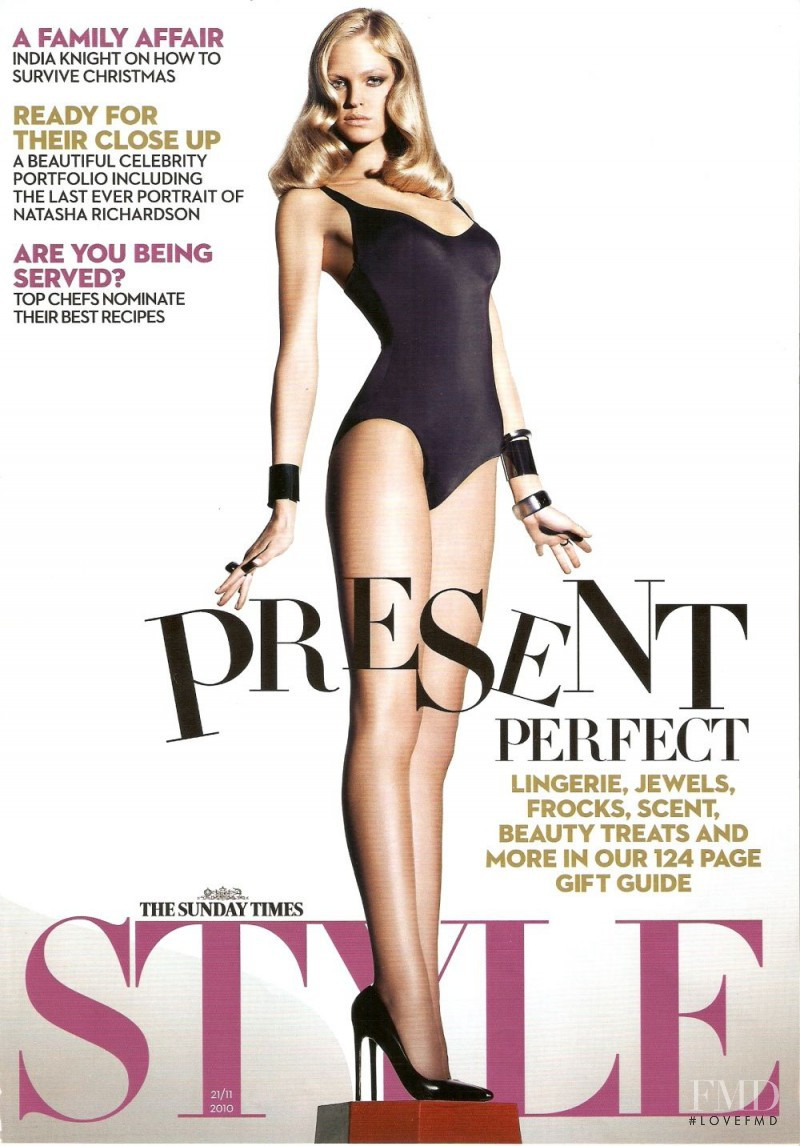 Cover Of The Sunday Times Style With Erin Heatherton