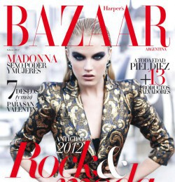 Dana drori fashion model models photos editorials for Bazaar argentina