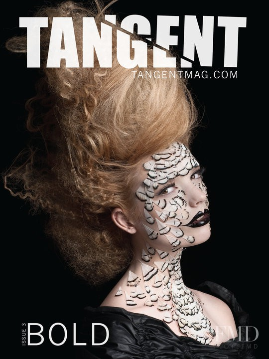 Chrystal Copland featured on the Tangent Magazine cover from June 2010