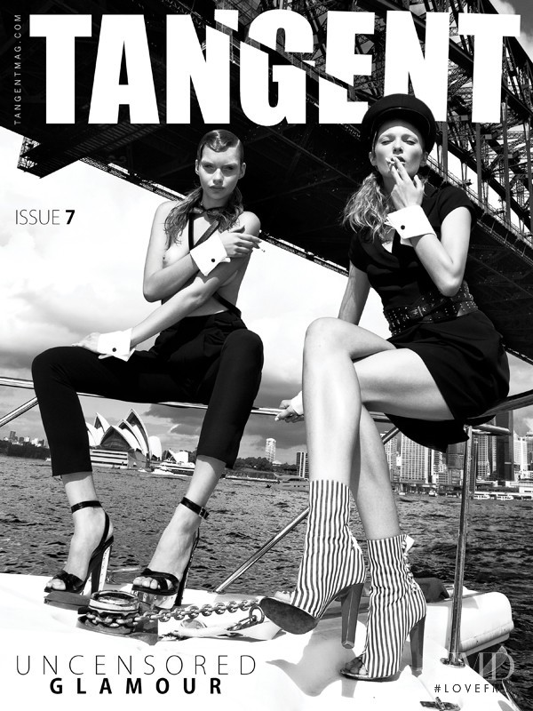 Avril Alexander, Taylor Nicole featured on the Tangent Magazine cover from June 2011