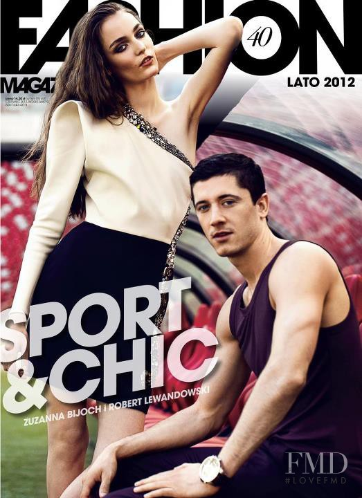 Zuzanna Bijoch featured on the Fashion Magazine cover from June 2012