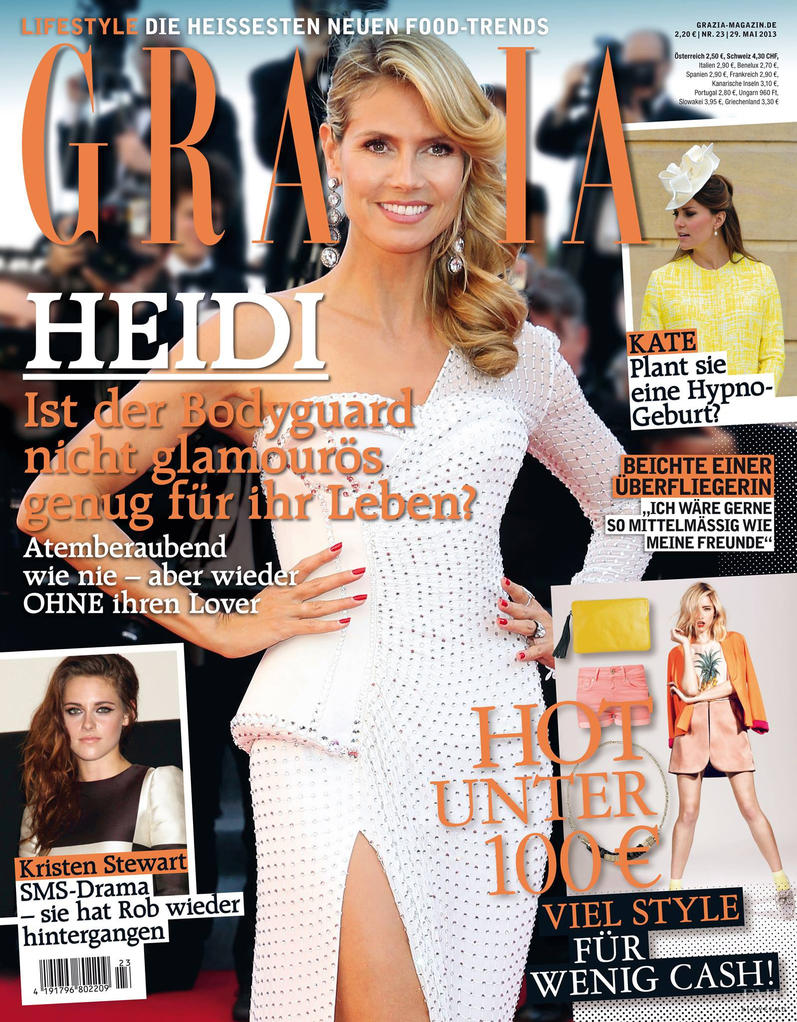 cover of grazia germany with heidi klum may 2013 id 23525 magazines the fmd. Black Bedroom Furniture Sets. Home Design Ideas
