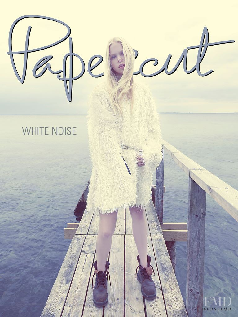Laerke Helmer featured on the Papercut cover from November 2013