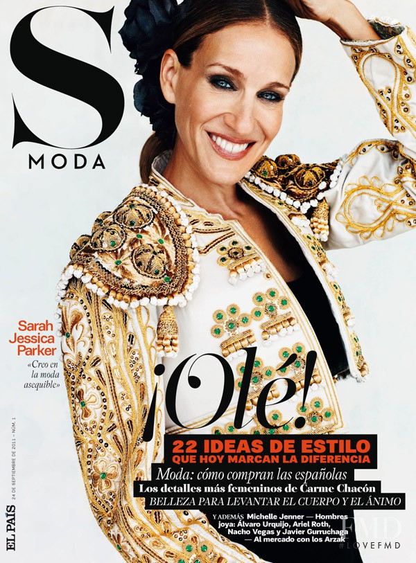 Sarah Jessica Parker featured on the S Moda cover from September 2011