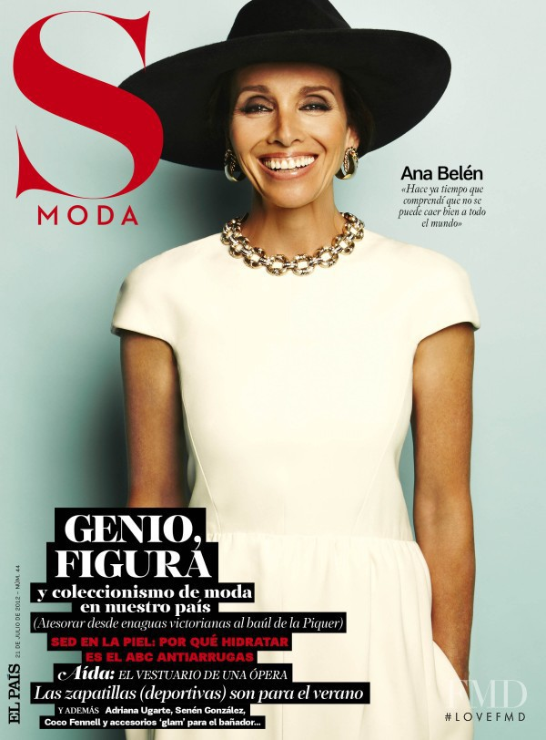 Ana Belén featured on the S Moda cover from July 2012