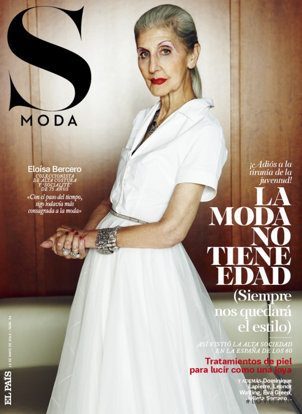 Eloísa Bercero featured on the S Moda cover from May 2012