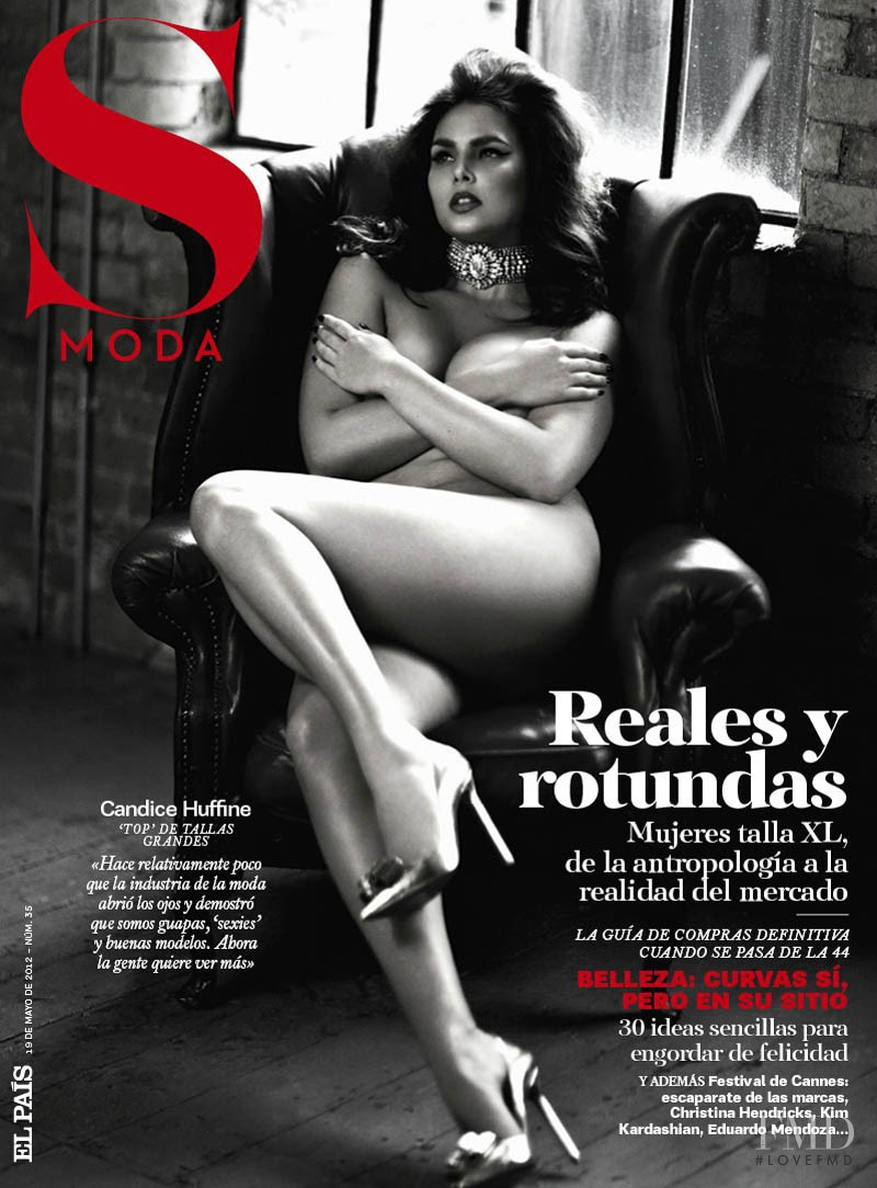 Candice Huffine featured on the S Moda cover from May 2012