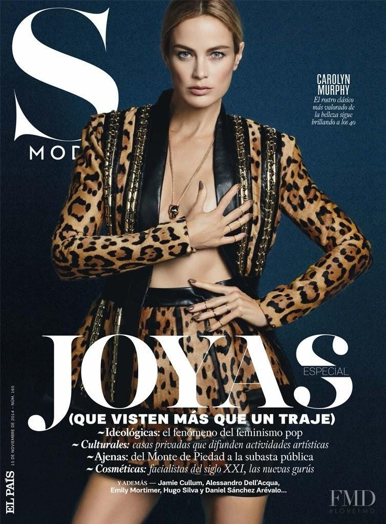 Carolyn Murphy featured on the S Moda cover from November 2014