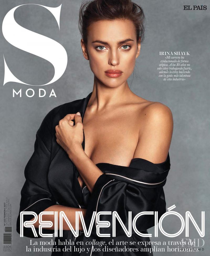 Irina Shayk featured on the S Moda cover from February 2017