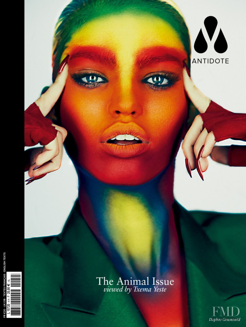 Daphne Groeneveld featured on the Antidote cover from October 2012