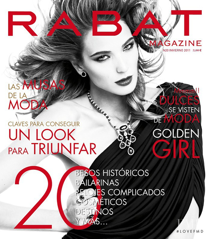 Marta Español featured on the Rabat Spain cover from January 2011