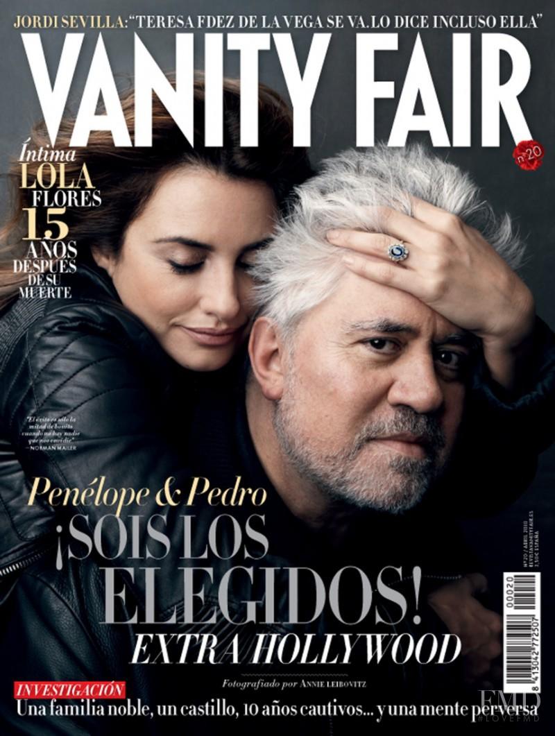 Cover of Vanity Fair Spain with Penélope Cruz, Pedro ...