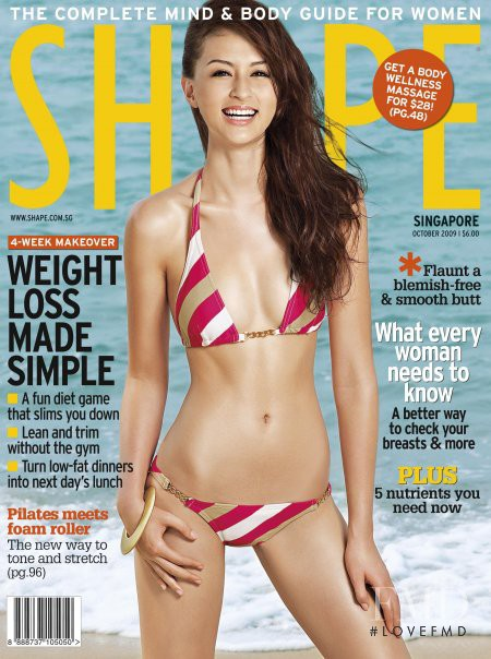 featured on the Shape Singapore cover from October 2009