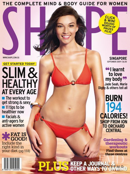 featured on the Shape Singapore cover from September 2009
