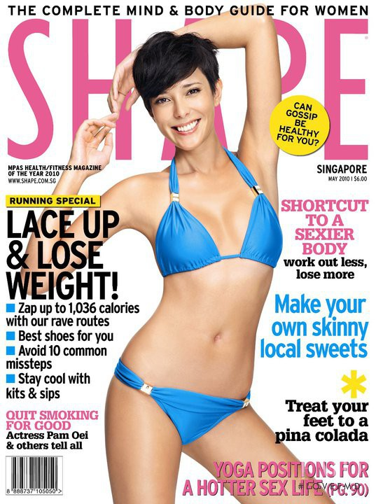 featured on the Shape Singapore cover from May 2010