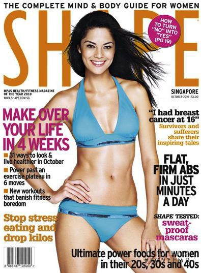 featured on the Shape Singapore cover from October 2010