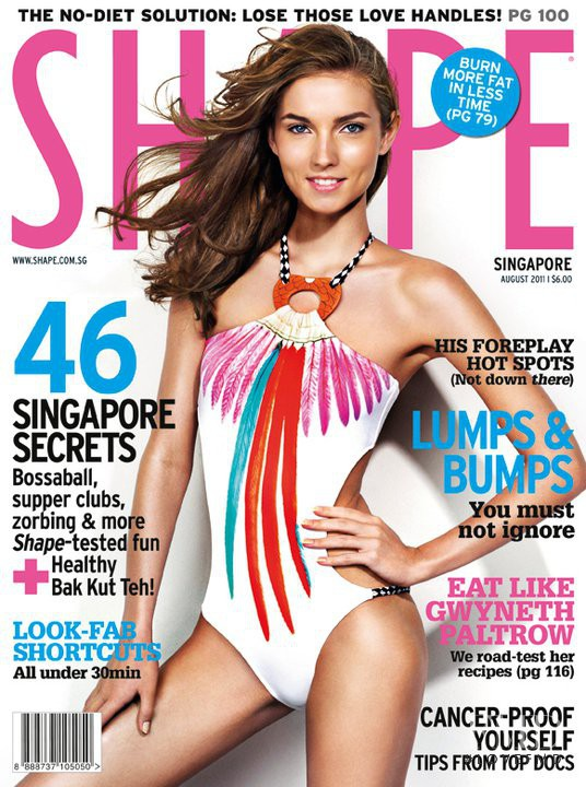 featured on the Shape Singapore cover from August 2011