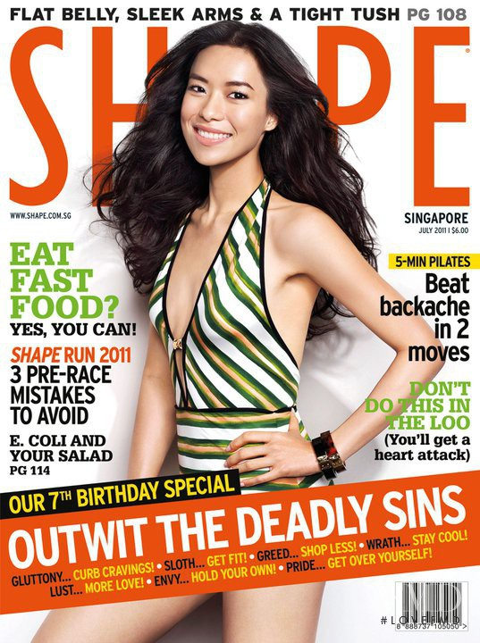featured on the Shape Singapore cover from July 2011