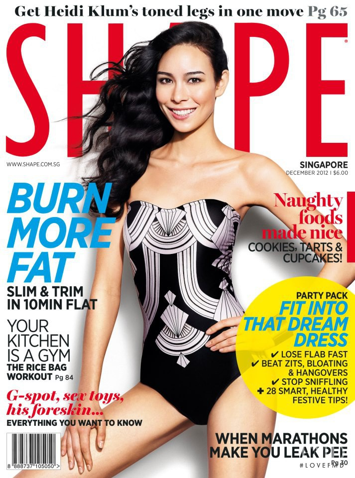 featured on the Shape Singapore cover from December 2012