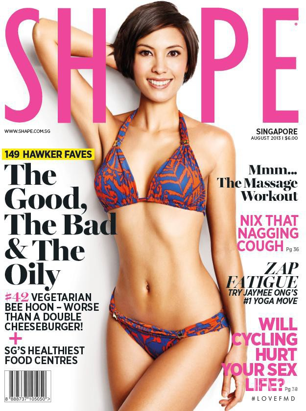 featured on the Shape Singapore cover from August 2013