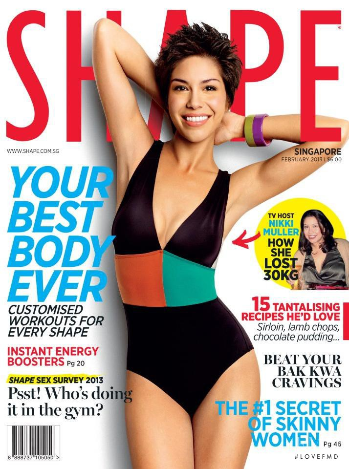 featured on the Shape Singapore cover from February 2013