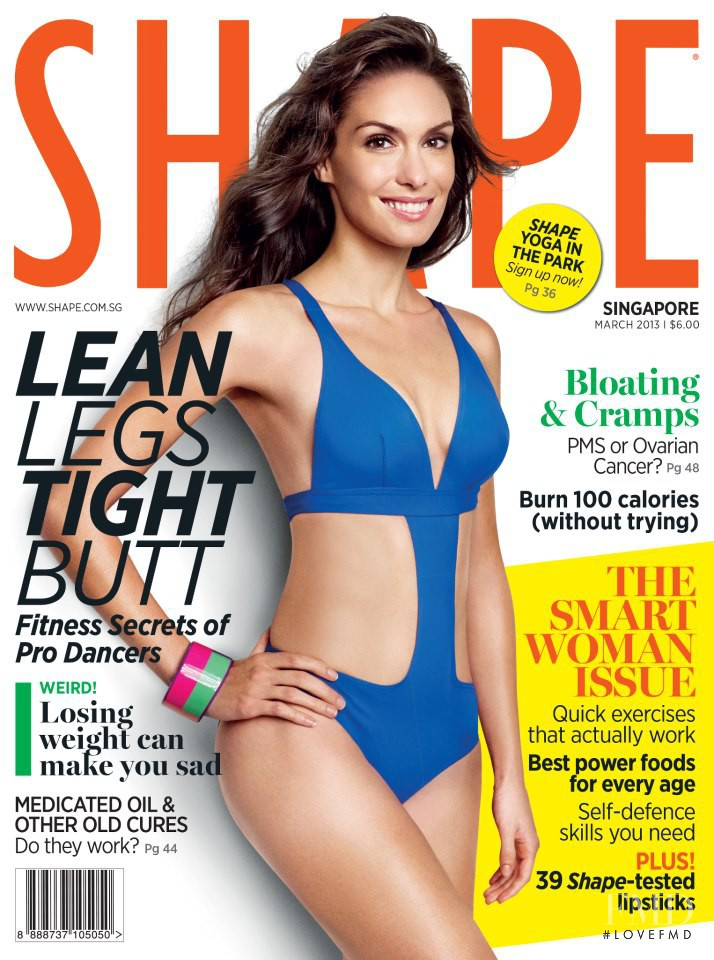 featured on the Shape Singapore cover from March 2013