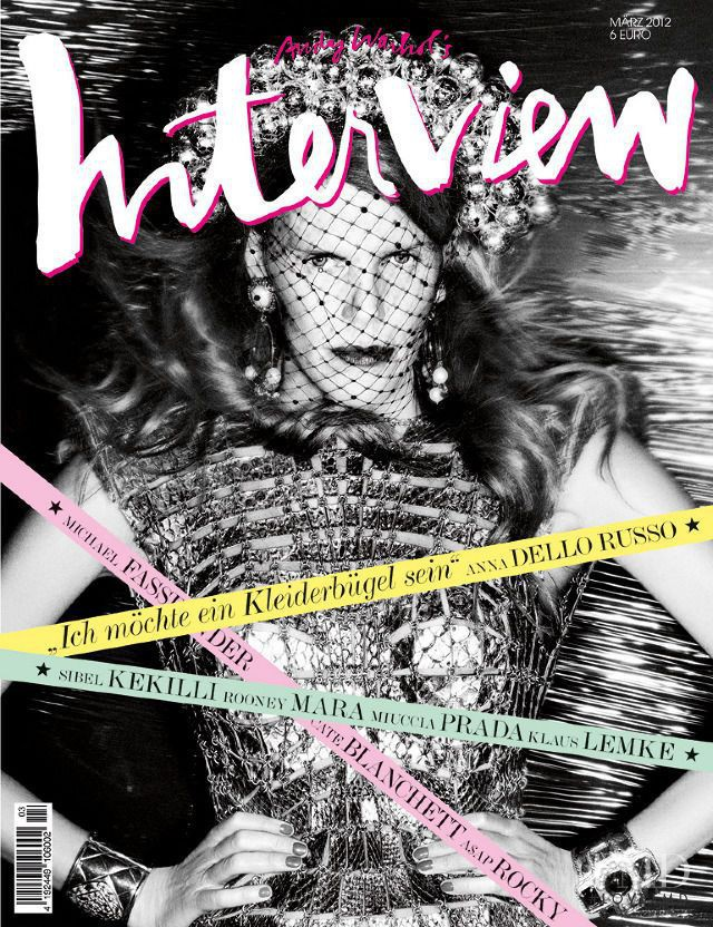Anna Dello Russo featured on the Interview Germany cover from March 2012