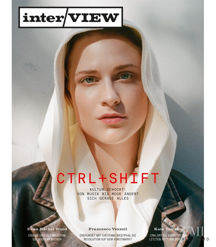 featured on the Interview Germany cover from October 2016