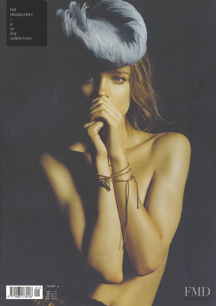 Natalia Vodianova featured on the FAT cover from September 2008