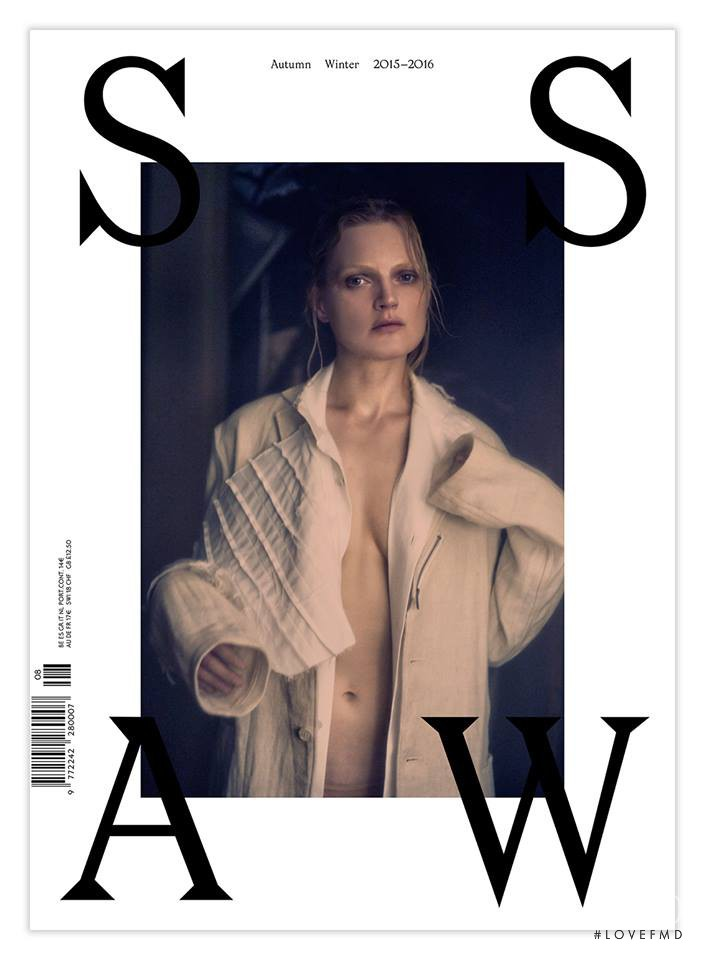 Guinevere van Seenus featured on the SSAW cover from September 2015