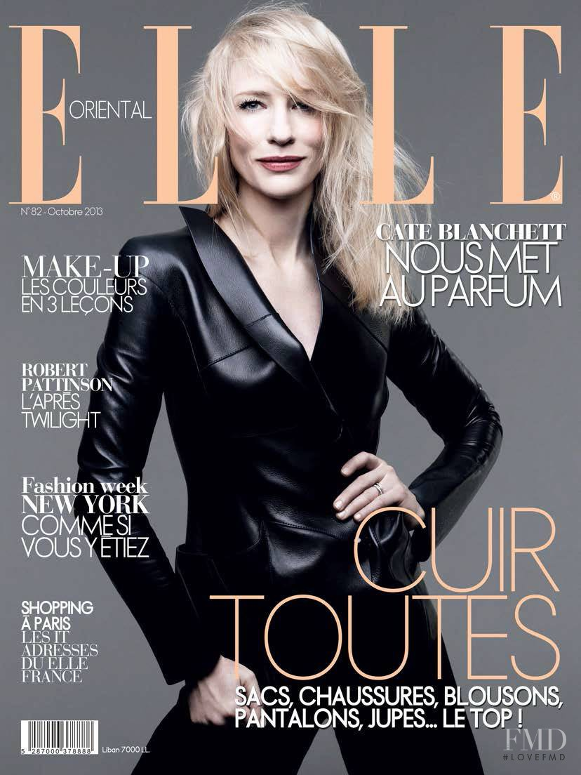 Cover of Elle Oriental with Cate Blanchett, October 2013 ...