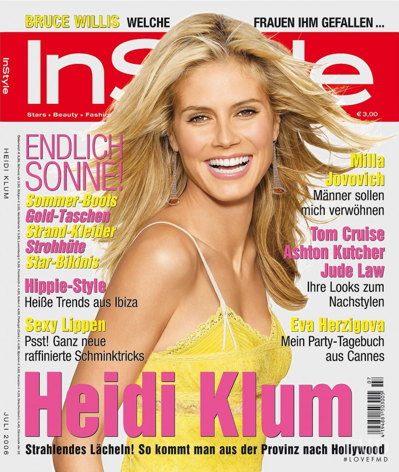 cover of instyle germany with heidi klum july 2006 id 12598 magazines the fmd. Black Bedroom Furniture Sets. Home Design Ideas