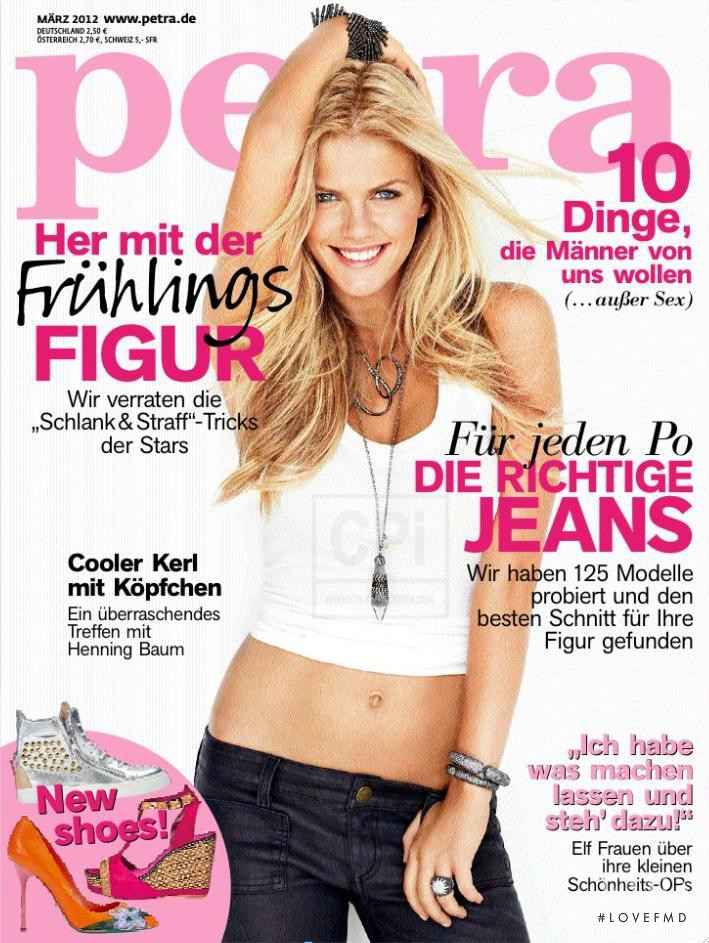 Brooklyn Decker featured on the Petra cover from March 2012