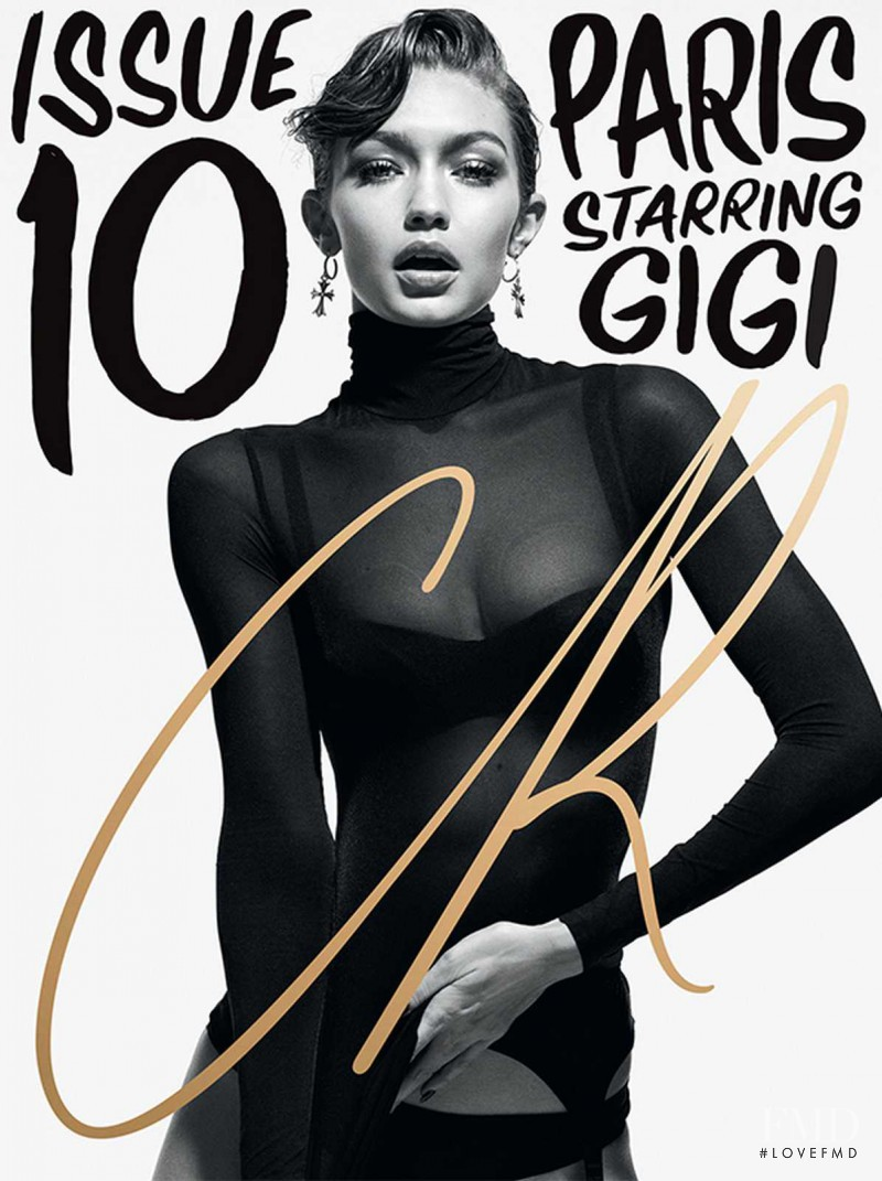 Fashion Book Cover Ups : Cover of cr fashion book with gigi hadid february
