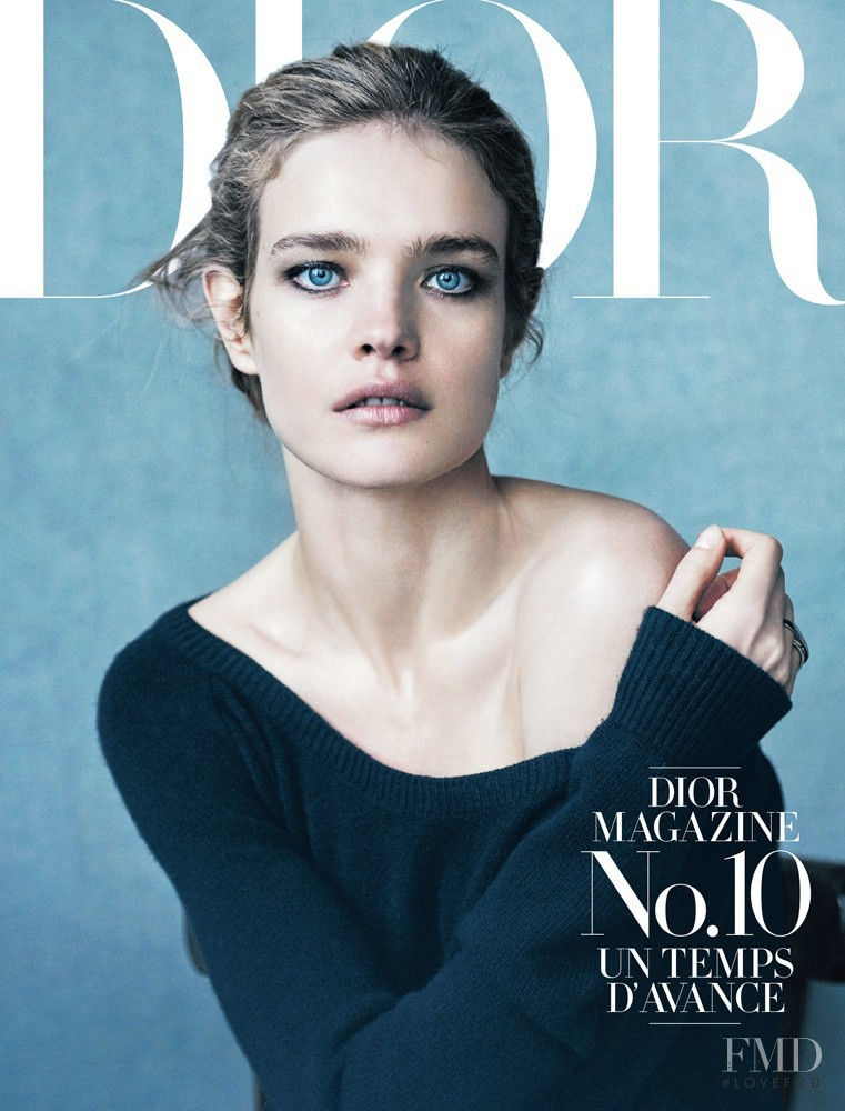 Natalia Vodianova featured on the Dior Mag cover from June 2015