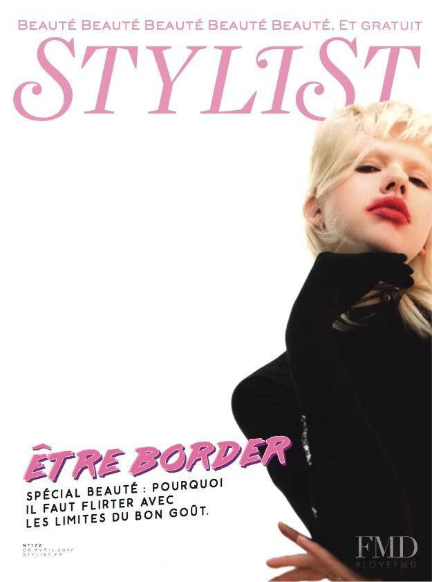 Suzi Leenaars featured on the Stylist France cover from April 2017