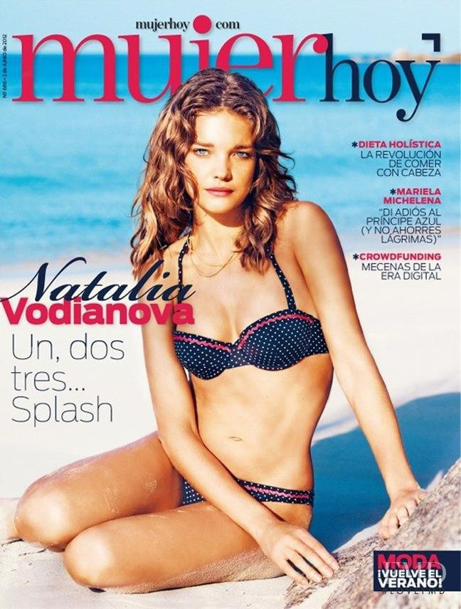 Natalia Vodianova featured on the Mujer Hoy cover from June 2012